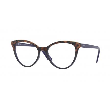 Armação De Óculos Vogue Vo5297l 2752 52 Marrom Brilho