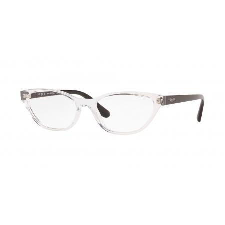 Armação De Óculos Vogue Vo5309l W745 54 Transparente Translúcido