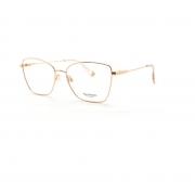 Armação Oculos Ana Hickmann AH1405 05A Rosê Brilho