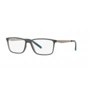 Armação Oculos Arnette Clang An7186l 2681 56 Cinza Translucido