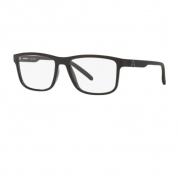 Armação Oculos Arnette Krypto AN7183L 2701 55 Preto Brilho
