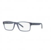 Armação Óculos Arnette Leonardo An7179l 2603 Azul Fosco