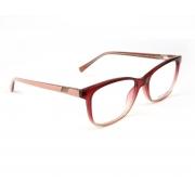 Armação Oculos Atitude AT6261I C01 Vermelho Translucido