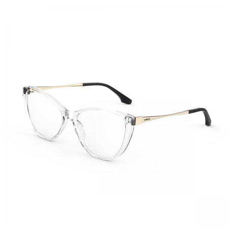Armação Oculos Colcci Agatha C6147dc355 Transparente Dourado