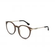 Armação Oculos Colcci Bebe C6154j2653 Marrom Fosco