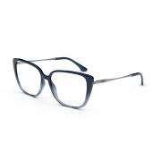 Armação Oculos Colcci Judy C6153kce55 Azul Translucido