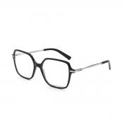 Armação Oculos Colcci Louise c6158apc58 Preto Fume Brilho