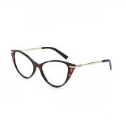Armação Oculos Colcci Rosa C6157f2158 Rosa Demi Marrom