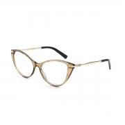 Armação Oculos Colcci Rosa C6157j2958 Marrom Translucido