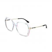 Armação Oculos Colcci Stela C6160kck59 Azul Rosa
