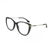 Armação Oculos Colcci Tati C6159a3458 Preto Brilho