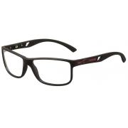 Armação Oculos de Grau Mormaii Atlantico M6007A1457 - PRETO