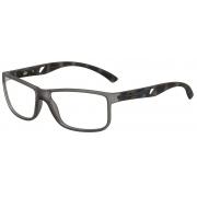 Armação Oculos de Grau Mormaii Atlantico M6007D2457 Fume Fosco