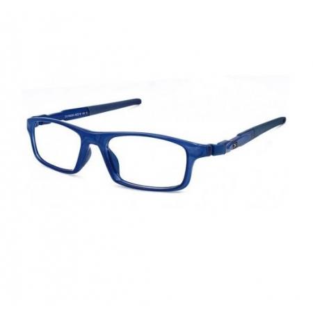 Armação Óculos Dos Uno Dual Street Du125430 Silicone Esportiva Azul