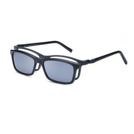 Armação Óculos Dos Uno Track Du205402 Silicone Preto Fosco Clip On Polarizado
