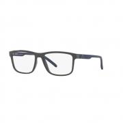 Armação Óculos Grau Arnette Krypto An7183l 2719 Cinza Brilhoso