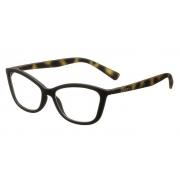 Armação Oculos Grau Colcci Cher C6024A4254 Preto Marrom