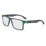 Armação Oculos Grau Mormaii Califa M6047D6356 Preto Verde