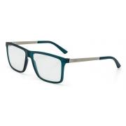 Armação Oculos Grau Mormaii Khapa M6045K3156 - AZUL PETRÓLEO COM HASTES EM METAL