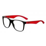 Armação Oculos Grau Mormaii Lances M1202A9053 Preto Vermelho