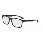 Armação Oculos Grau Mormaii Prana M6044A4155 Preto Fosco Azul