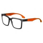 Armação Oculos Grau Mormaii Sacramento Rx M6041D5653 - CINZA COM HASTES EM LARANJA