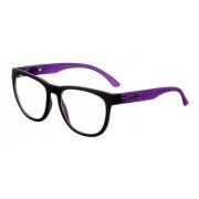 Armação Oculos Grau Mormaii Santa Cruz RX M6040A9355 - PRETO COM HASTES EM ROXO