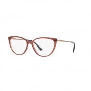 Armação Óculos Grazi gz3076 h606 Marrom Translucido
