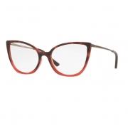 Armação Óculos Grazi Massafera  gz3082 h922 Vermelho Havana Brilho