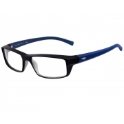 Armação Oculos Hb 93055 10101210031010 Preto Azul