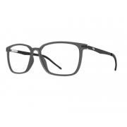 Armação Oculos Hb Duotech 0277 10102770335010 Cinza Translucido Fosco
