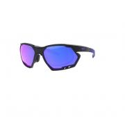 Armação Oculos Hb Rush 10102760302024 Grafite Fosco Lente Azul Espelhado