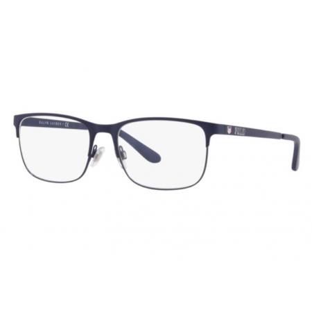 Armação Óculos Polo Ralph Lauren Ph1189 9364 56 Azul Fosco