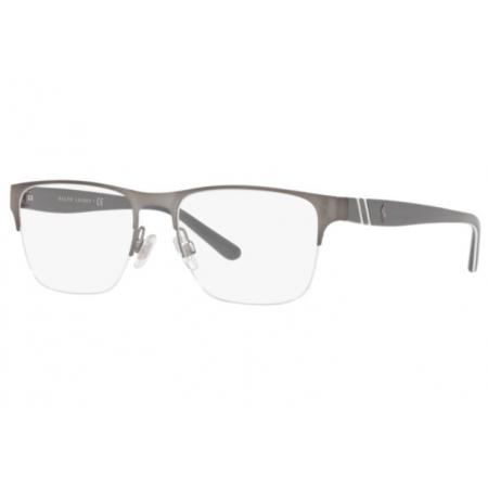 Armação Óculos Polo Ralph Lauren Ph1191 9050 55 Grafite Brilho