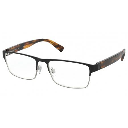 Armação Óculos Polo Ralph Lauren Ph1198 9412 56 Preto Fosco Marrom