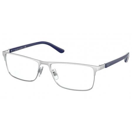Armação Óculos Polo Ralph Lauren Ph1199 9414 55 Cinza Fosco Azul