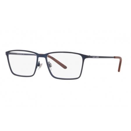 Armação Óculos Ralph Lauren Rl5103 9310 56 Azul Fosco
