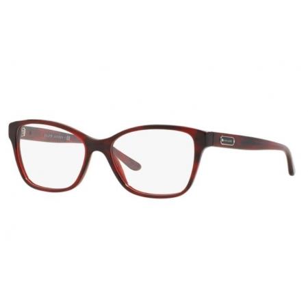 Armação Óculos Ralph Lauren Rl6129 5522 54 Vermelho