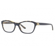 Armação Óculos Ralph Lauren Rl6160 5633 53 Azul