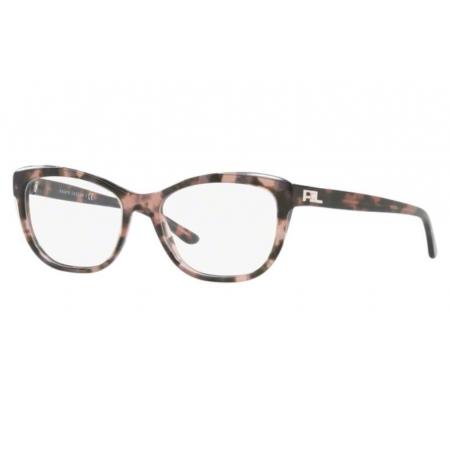 Armação Óculos Ralph Lauren Rl6170 5655 54 Pink Havana