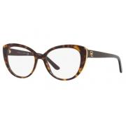 Armação Óculos Ralph Lauren Rl6172 5003 53 Marrom Havana