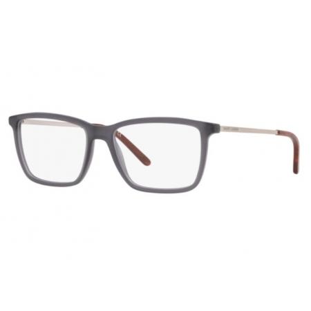 Armação Óculos Ralph Lauren Rl6183 5322 55 Cinza Translucido