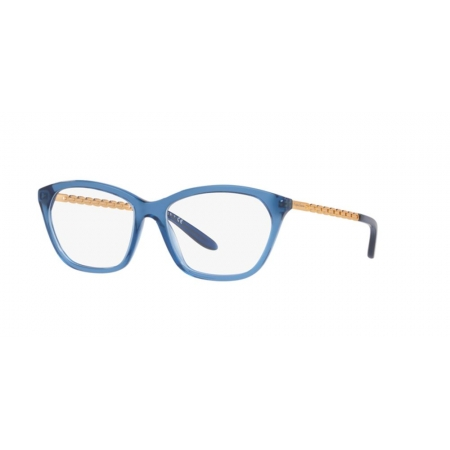 Armação Óculos Ralph Lauren Rl6185 5744 55 Azul Translucido