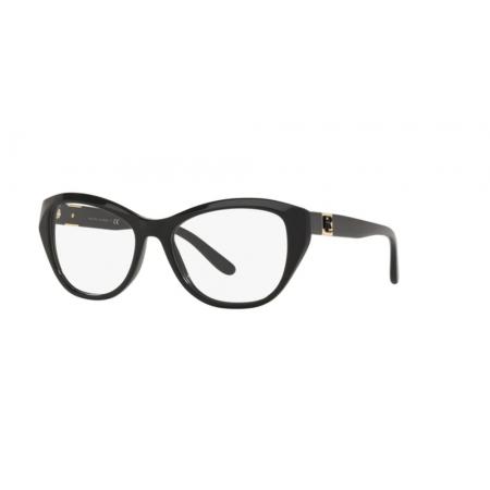 Armação Óculos Ralph Lauren Rl6187 5001 54 Preto Brilho