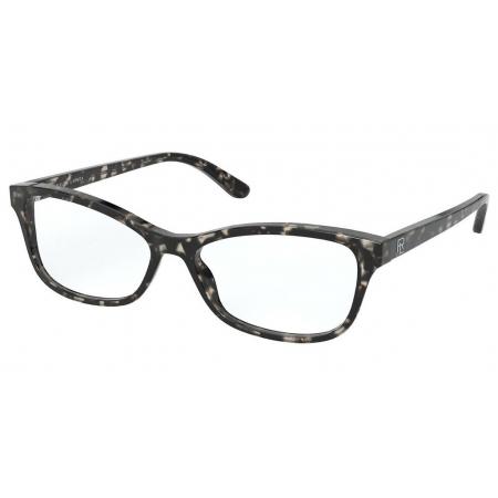 Armação Óculos Ralph Lauren Rl6205 5745 55 Preto Havana Brilho