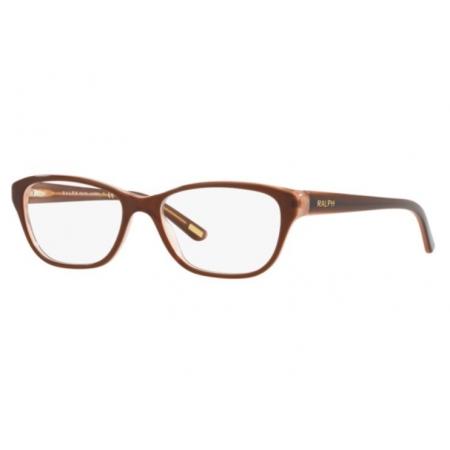 Armação Óculos Ralph Ra7020 5684 52 Marrom Translucido