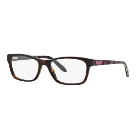 Armação Óculos Ralph Ra7039 1072 53 Marrom Havana