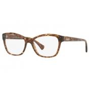 Armação Óculos Ralph Ra7095 5678 53 Marrom Havana Glitter