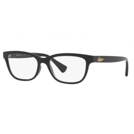 Armação Óculos Ralph Ra7097 5001 54 Preto Brilho