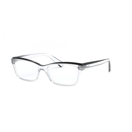 Armação Óculos Ralph Ra7115 5002 54 Transparente Preto